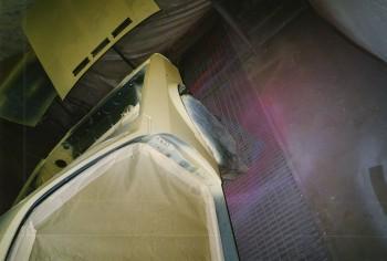 étape 10 Mise en phosphatant antirouille du vehicule