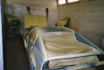 étape 9 Mise en phosphatant antirouille du vehicule